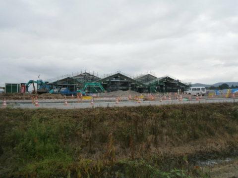 益子町の工事中の道の駅5-24
