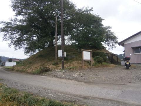 新宮寺塚古墳西から東方向撮影