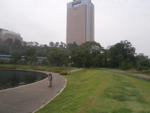 城跡に群馬県庁