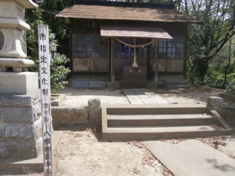 下館城跡八幡神社