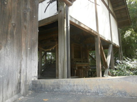 筑西市指定文化財八幡神社