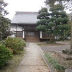 益子町普門寺境内と本堂