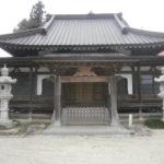 益子町長谷寺本堂