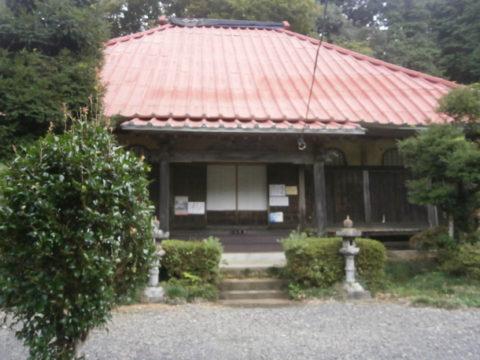 益子町安善寺本堂