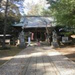 野木神社拝殿