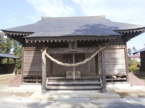 真岡鹿島神社拝殿