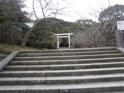 館山市熊野神社鳥居