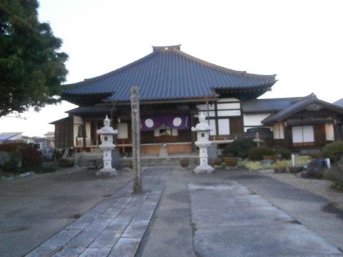 壬生町壬生氏菩提寺常楽寺本堂