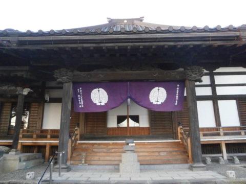 壬生町壬生氏菩提寺常楽寺本堂2