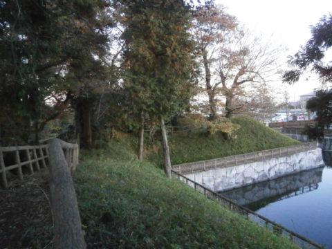 壬生城址公園工事後の城郭