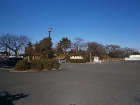 壬生城祉、公園化された城跡