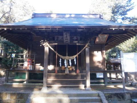 鹿沼市生子神社拝殿
