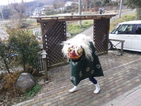 復活した獅子舞2