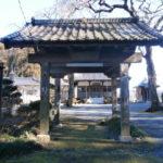 芳賀町来迎寺山門