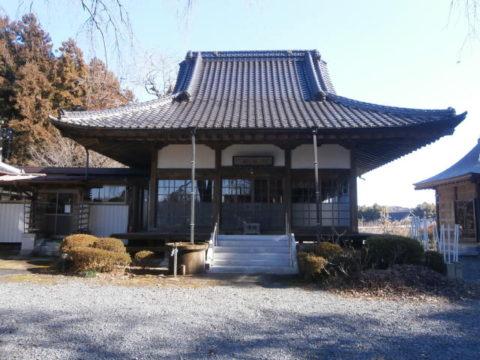 芳賀町来迎寺本堂