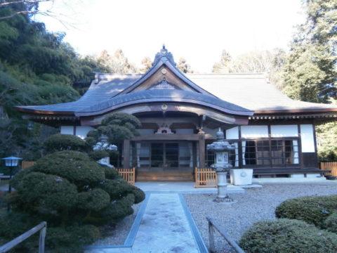 芳賀町長命寺本堂