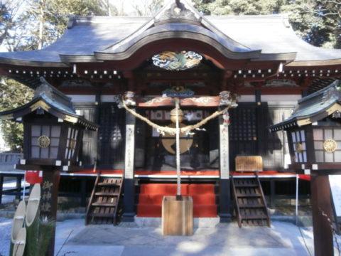 薬師寺八幡宮拝殿