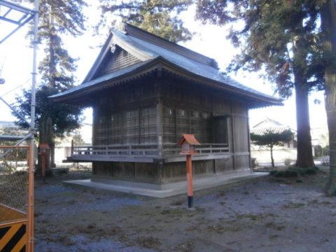 高椅神社神楽殿小山市