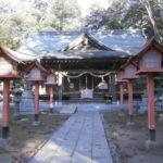 高椅神社拝殿小山市
