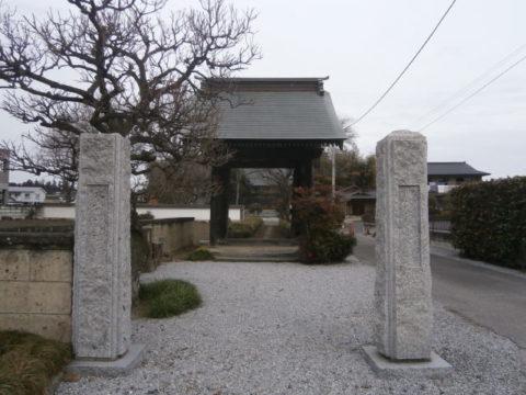 上三川善應寺山門