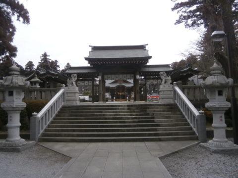 上三川町白鷺神社楼門