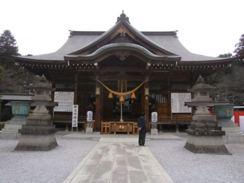 上三川町白鷺神社拝殿