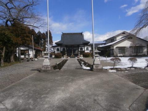 高根沢町妙福寺境内