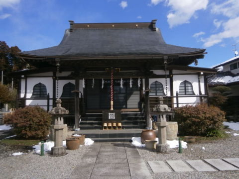 高根沢町妙福寺本堂