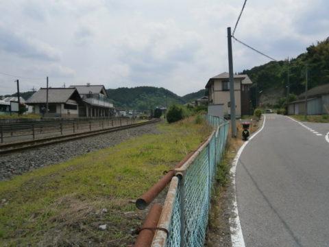 茂木駅SL