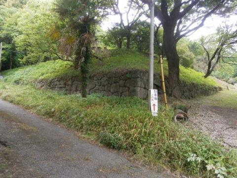 烏山城跡石垣