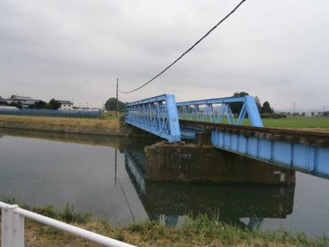 真岡鐵道五行川鉄橋