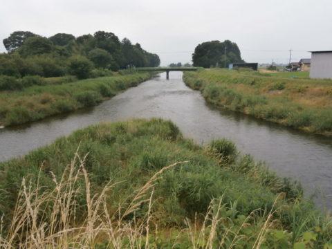 五行川と野元川合流