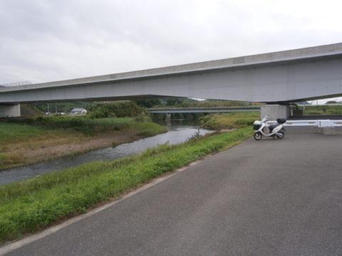 北関東自動車道路小貝川橋脚