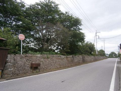 旧家の石垣