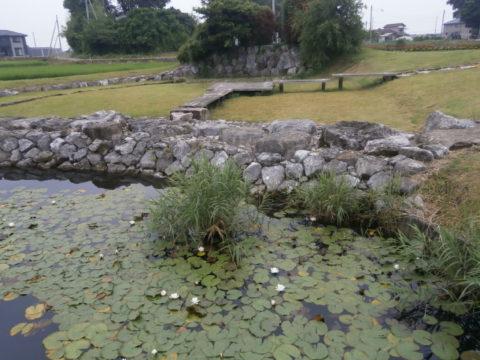 京の泉公園石垣