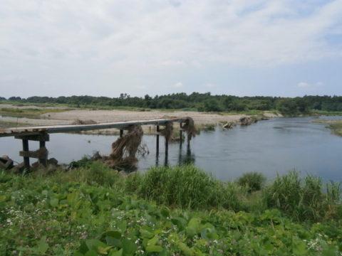 東刑部の木造橋
