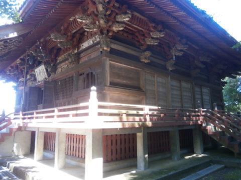 観音寺本堂軒下北東方向