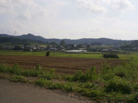 とちぎのふるさと田園風景百選益子町山本地区