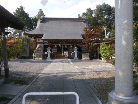 鹿島神社益子町内の境内