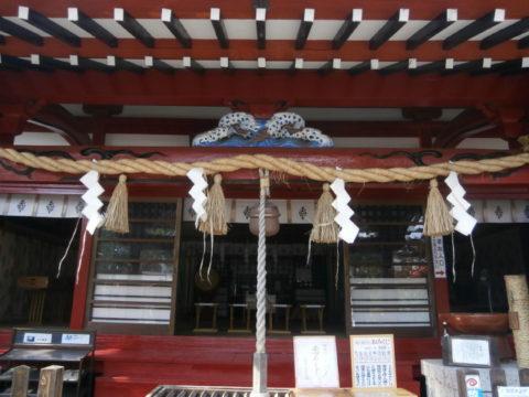 鹿島神社の手入れ良好な本殿