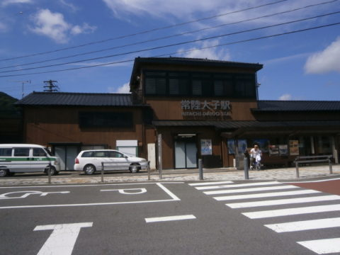 JR水郡線大子駅