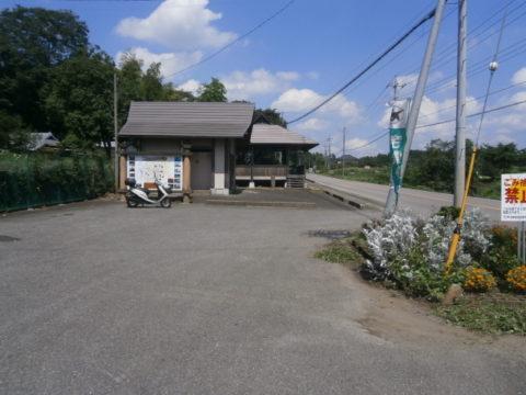 侍塚古墳駐車場
