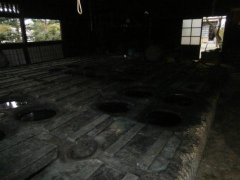 日下田藍染工房甕場2