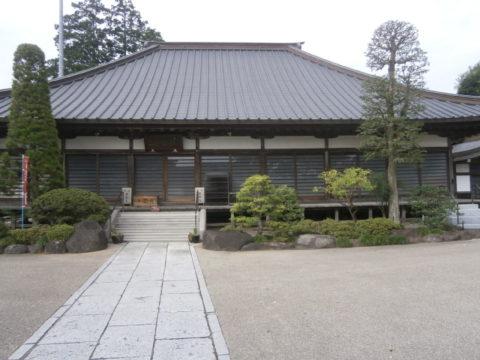 益子観音寺本堂