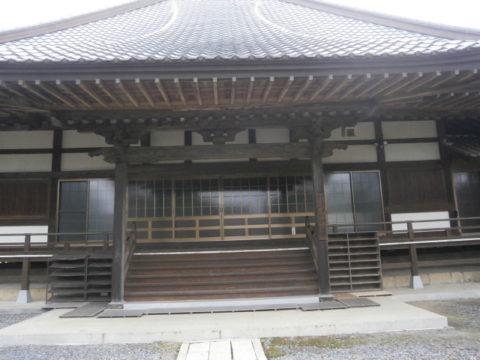 益子町妙伝寺本堂