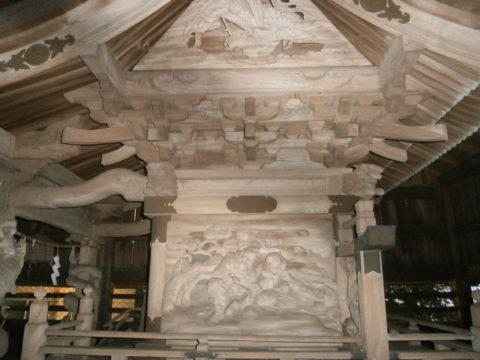 河井八幡神社本殿