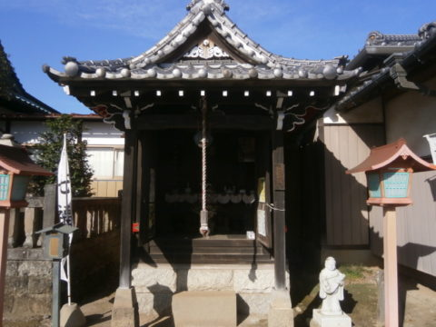 正定寺弁天堂