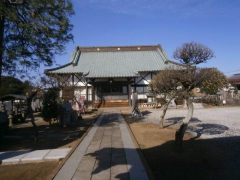 正定寺本堂