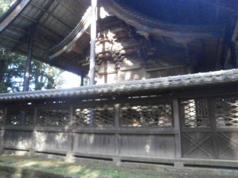 野木神社素晴らしい彫刻の本殿