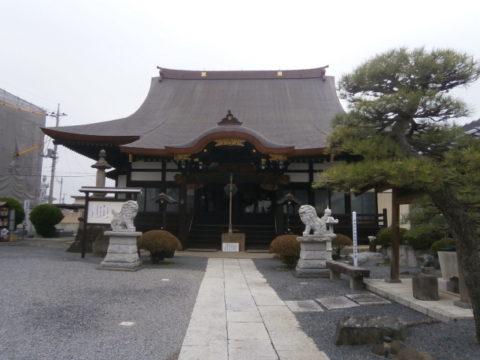 佐野市妙顕寺本堂